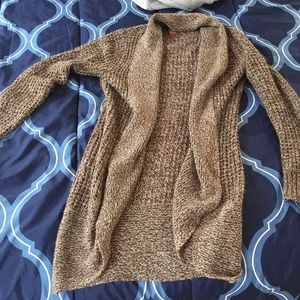 Womems Beige Cardigan